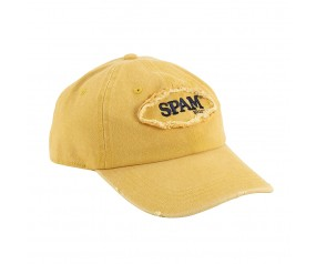 Yellow SPAM® Brand frayed oval Cap
