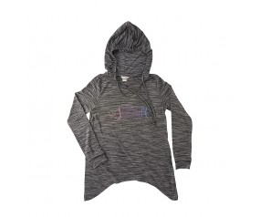 Ladies SPAM® Brand hoodie with tapered bottom