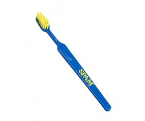 Blue SPAM® Brand Toothbrush