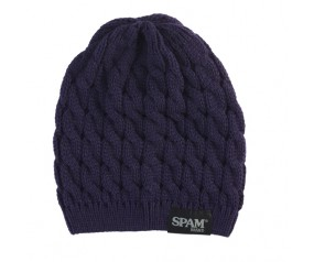 Cable Knit SPAM® Brand Stocking Hat