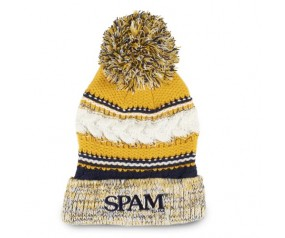 Knit SPAM® Brand Pom Pom Hat