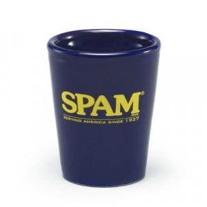 Navy SPAM® Brand Shot Glass
