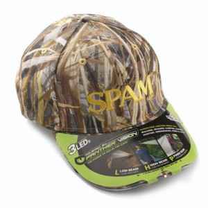 SPAM® Brand Lighted Camo Cap