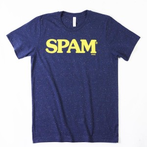 Navy Speckled SPAM® Brand T-shirt