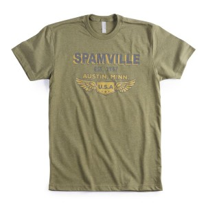 SPAM™VILLE Army Green T-shirt