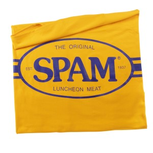 Gold Fleece SPAM® Brand Blanket