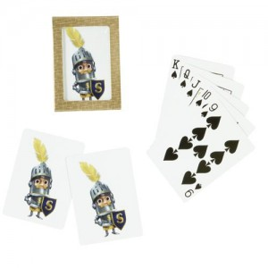 Sir Can-A-Lot™ Character Playing Cards