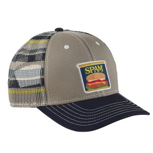 Striped Mesh Cap SPAM® Can Patch