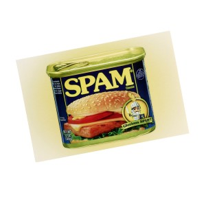 SPAM® Can Postcard