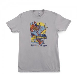 MN SPAMERICAN™ Tour Paul Bunyan T-shirt