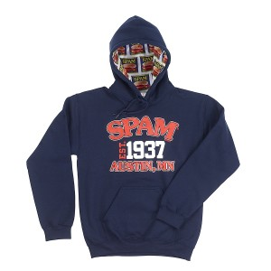 Hoodie with SPAM® Brand fabric