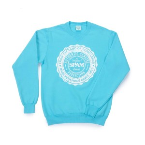 Teal Blue SPAM Brand® Sweatshirt