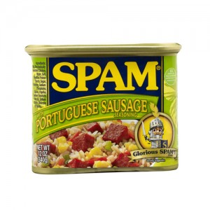 SPAM® with Portuguese Sausage Seasoning