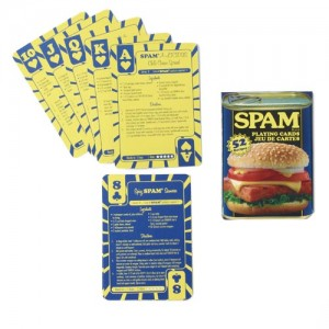 SPAM® Brand Recipe Playing Cards