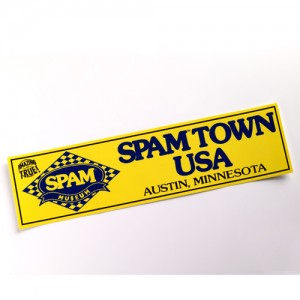 SPAMTOWN™ USA Bumper Sticker
