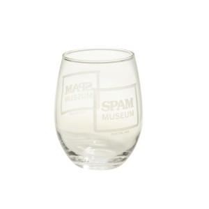 Stemless Museum Wine Glass