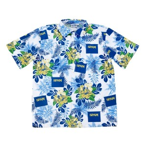 SPAM® Brand Hawaiian Camp Shirt