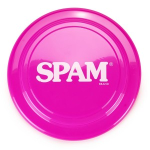 Pink SPAM® Brand Frisbee