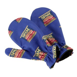 Fleece SPAM® Can Mittens